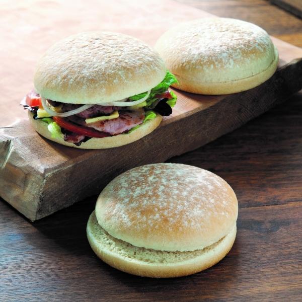 5'' Floured Burger Bap